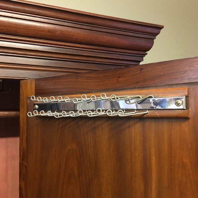 Vintage Armoire With Mirrored Door - Image 8 of 11