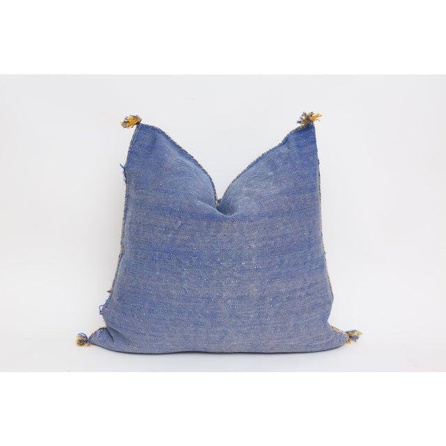 Moroccan Sabra Cactus Silk Pillow Cover - Image 4 of 4