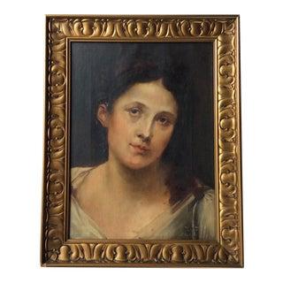 Antique Oil Painting Framed For Sale