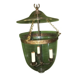 Vaughan Designs Glass Globe Lantern For Sale