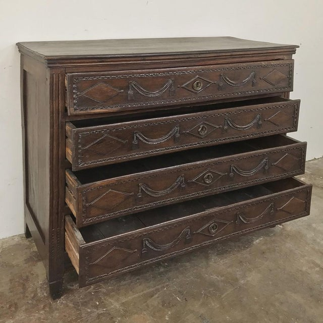 Late 18th Century 18th Century Country French Louis XVI Commode For Sale - Image 5 of 12