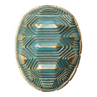 Nest Studio Collection Tortoise Verdigris Handle For Sale