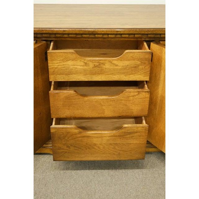 20th Century Italian Dixie Furniture Triple Door Dresser For Sale In Kansas City - Image 6 of 13