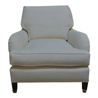 Addison Interiors Willis Saddle Arm Chair For Sale