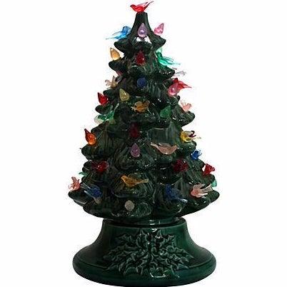 Vintage Light-Up Ceramic Christmas Tree - Image 1 of 4