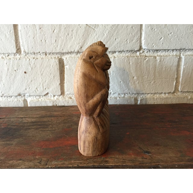 No See, Hear, Speak Evil Monkeys Carving - Image 5 of 7