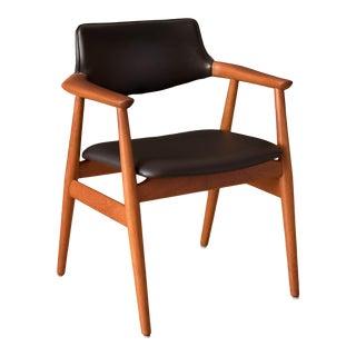 Vintage Danish Teak Armchair by Svend Aage Eriksen for Glostrup Mobelfabrik For Sale