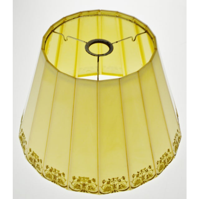 Mid-Century Modern Mid Century Emeloid Lampshade For Sale - Image 3 of 13