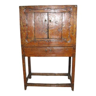 Antique Chinese Cabinet With Doors For Sale