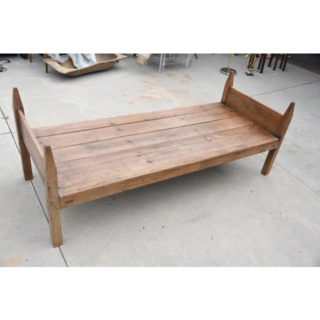 19th Century French Wooden Daybed For Sale - Image 9 of 9