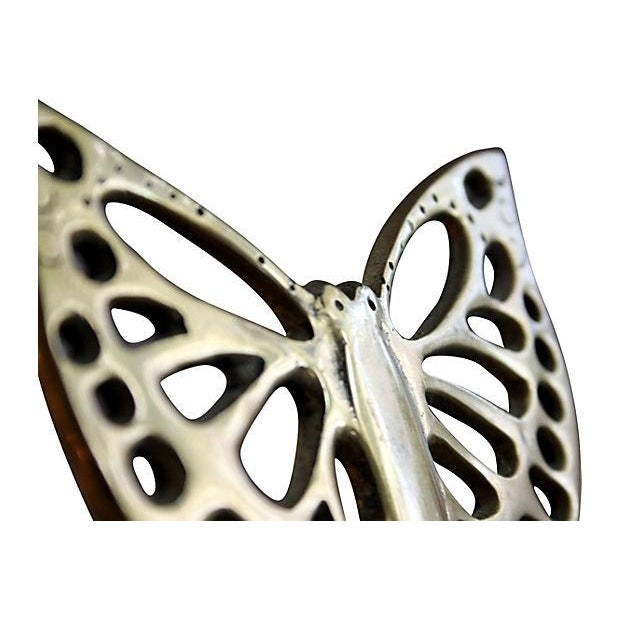 Brass Butterfly Bookends - a Pair - Image 4 of 5