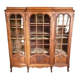 19th Century Art Nouveau Vitrine/Cabinet