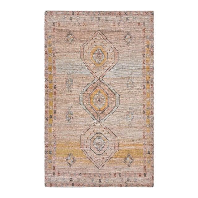 Naina, Bohemian Moroccan Hand Loom Area Rug, Blush, 9 X 12 For Sale