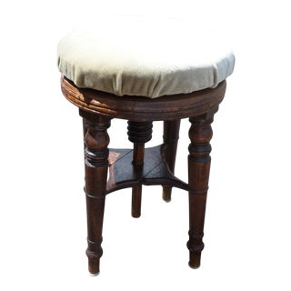 Sheraton Mahogany Piano Stool, Early 19th Century For Sale