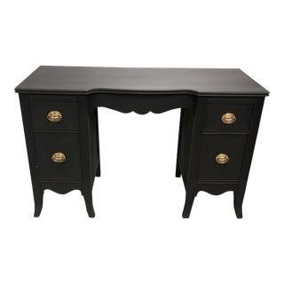 1950s Traditional Partner Desk or Vanity For Sale