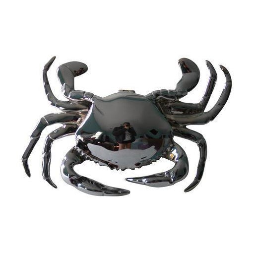 Chrome Crab Door Knocker - Image 1 of 4