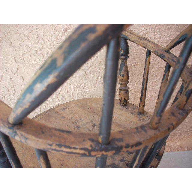 Windsor Child's Rocking Chair For Sale - Image 4 of 10