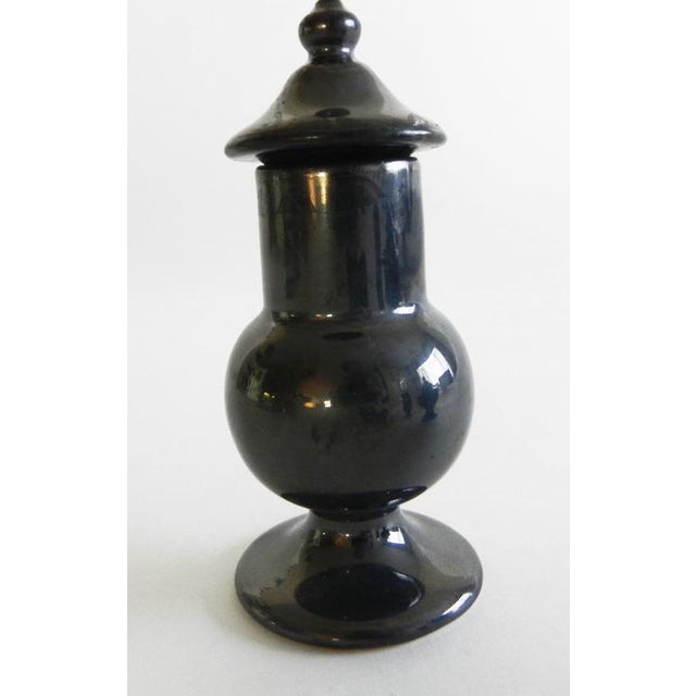 2010s Traditional Ceramic Little Urns - Set of 3 For Sale - Image 5 of 7