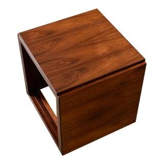 Interlocking Kai Kristiansen Danish Rosewood Cube Nesting Tables For Sale