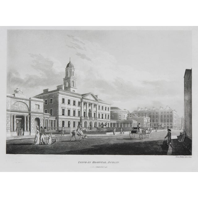 Engraved Views of Dublin Ireland by James Malton - Set of 25 For Sale - Image 4 of 13