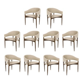 Set of 10 Enroth Dining Chairs For Sale