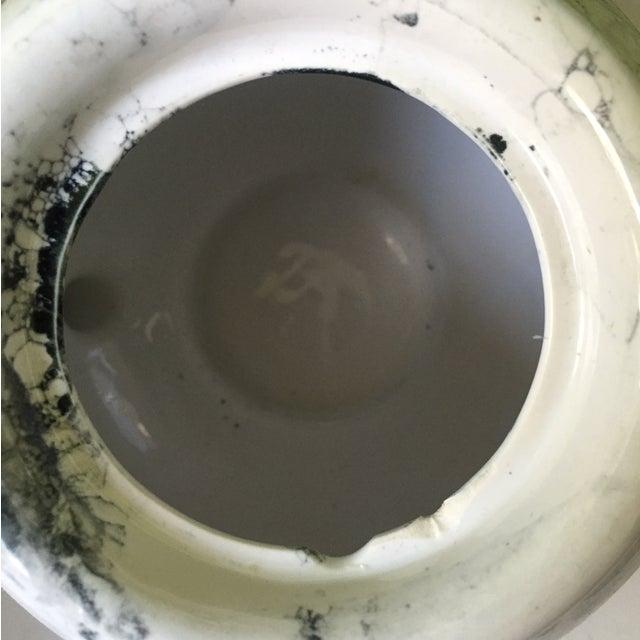 Marblelized Enamel Teapot - Image 3 of 4