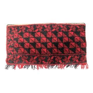 Persian Rug Handknotted Sarpelasi Lumbar Pillow For Sale