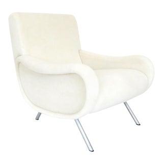 Marco Zanuso for Arflex Lady Chair Italian Lounge Chair For Sale