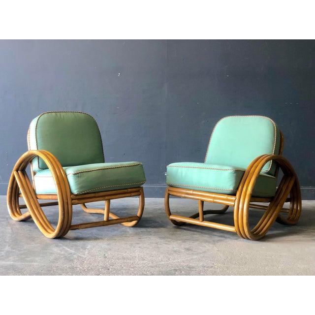 Wood Paul Frankl Pretzel Settee Set For Sale - Image 7 of 13