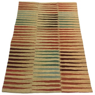 Modern Patchwork Kilim | Flatweave For Sale
