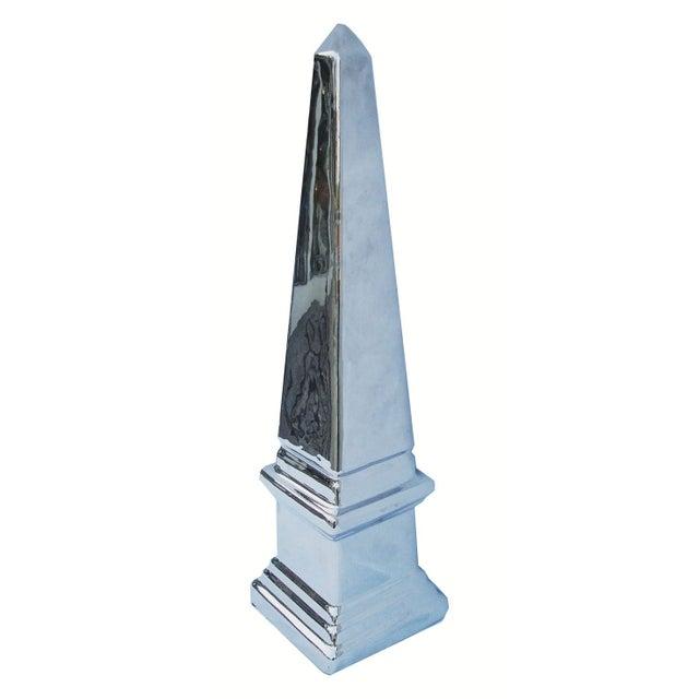 Large Ceramic Obelisk For Sale