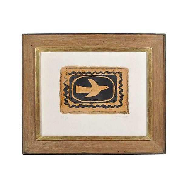 """Vintage """"Bird Vii"""" Lithograph by Georges Braques - Image 1 of 8"""