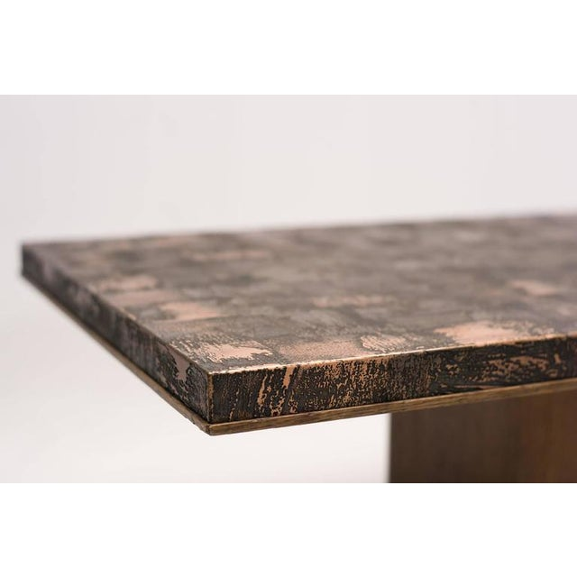 Traditional Brass Coffee Table by Illum Wikkelsø For Sale - Image 3 of 6