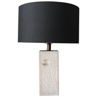 Fratelli Manelli Travertine Lamp, Italy, 1970s. For Sale