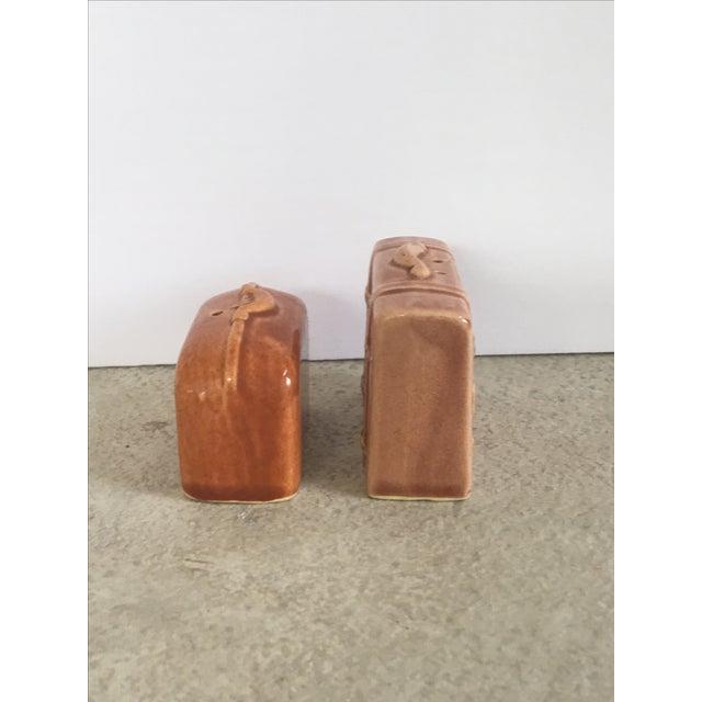 Vintage Suitcase Salt & Pepper Shakers - Image 4 of 6