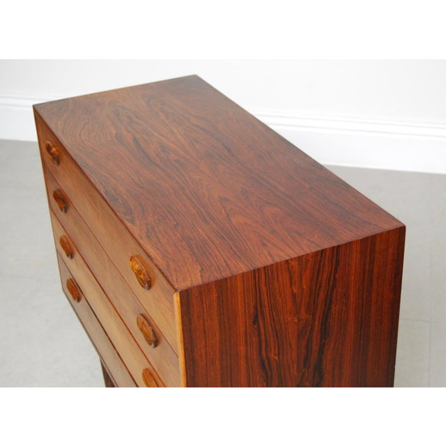 Vintage Kai Kristiansen Danish Mid-Century Modern Rosewood Dresser - Image 5 of 6