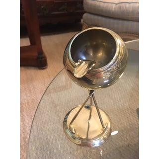 Brass Ashtray Set on a Tripod of Golf Clubs Preview