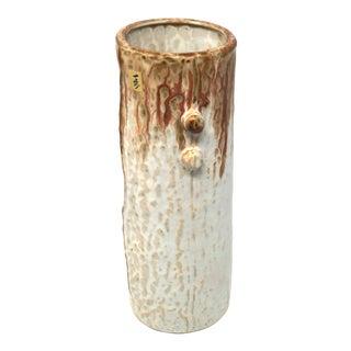 1970s Japanese Studio Pottery Ikebana Vase