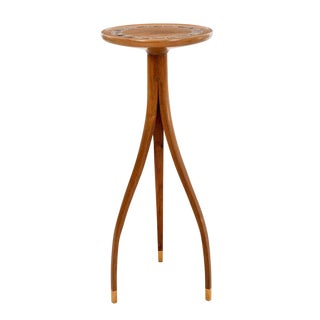 1990s American Modern Pedestal Table For Sale
