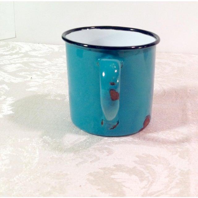 Vintage Enamel Ware Cups- Set of 6 - Image 7 of 11