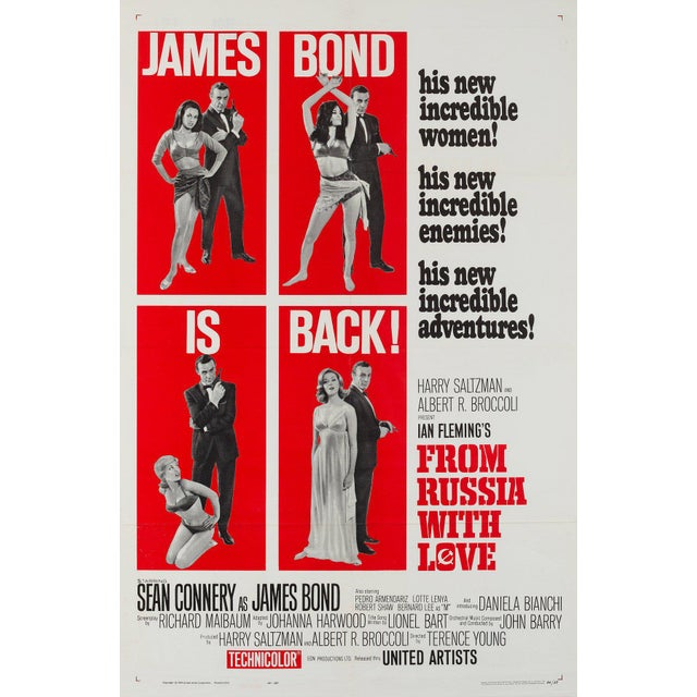 From Russia With Love, one of the most thrilling and action-packed Bond flicks, and reputedly Connery's favourite. The...