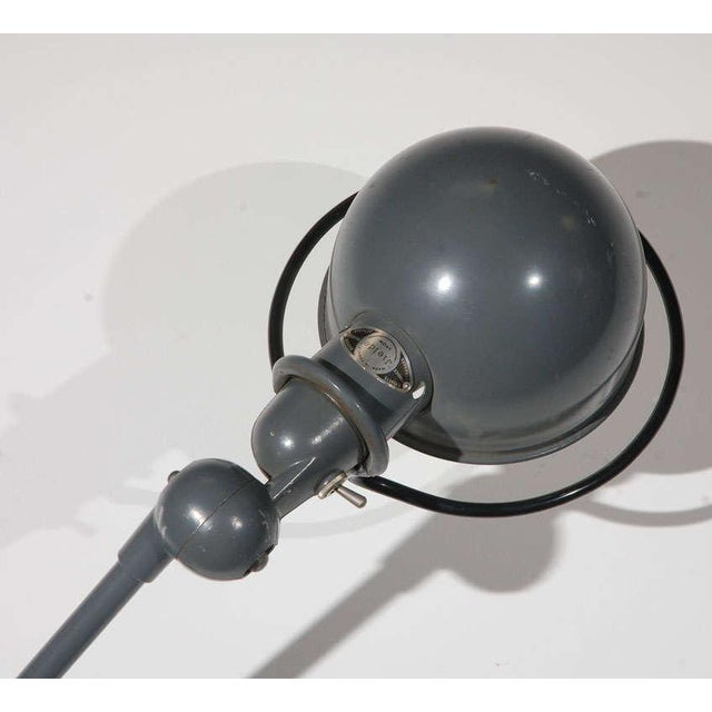 French Vintage Jielde Factory French Industrial Metal Lamp For Sale - Image 3 of 10