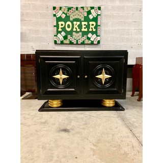 1940s Vintage French Art Deco Sideboard / Buffet / Bar Preview