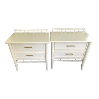 Vintage Thomasville Chinoiserie Nightstands Circa 1976 - a Pair For Sale