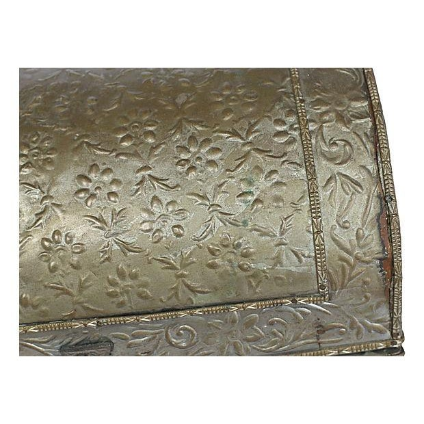 Embossed Tine Covered Box - Image 5 of 5