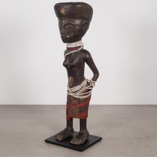 Custom Mounted African Chokwe Tribe Angolan Figure Preview