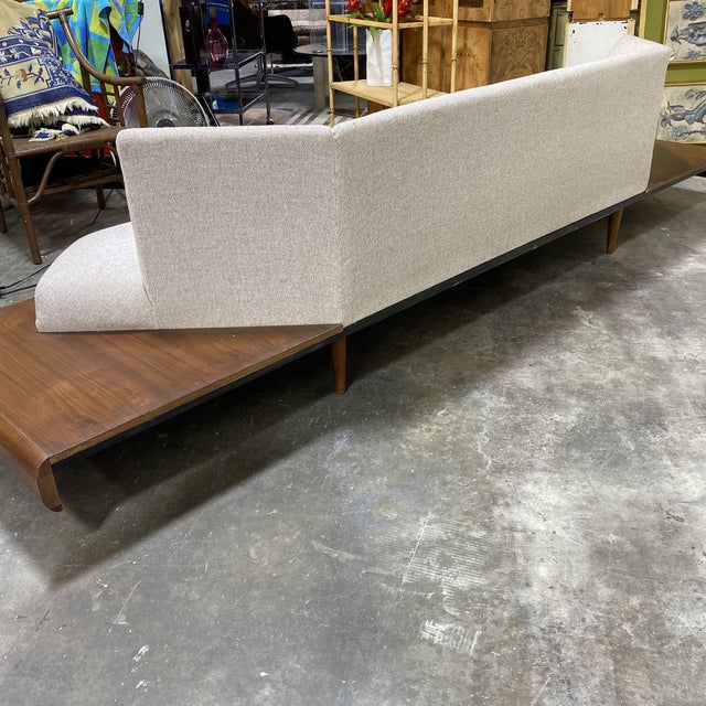 Beige Adrian Pearsall Platform Sofa For Sale - Image 8 of 12