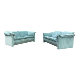 N. Eilersen A/S Danish Loveseats - A Pair