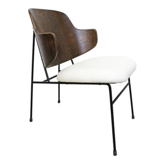 Mid-Century Danish Modern Ib Kofod Larsen Selig Penguin Chair For Sale