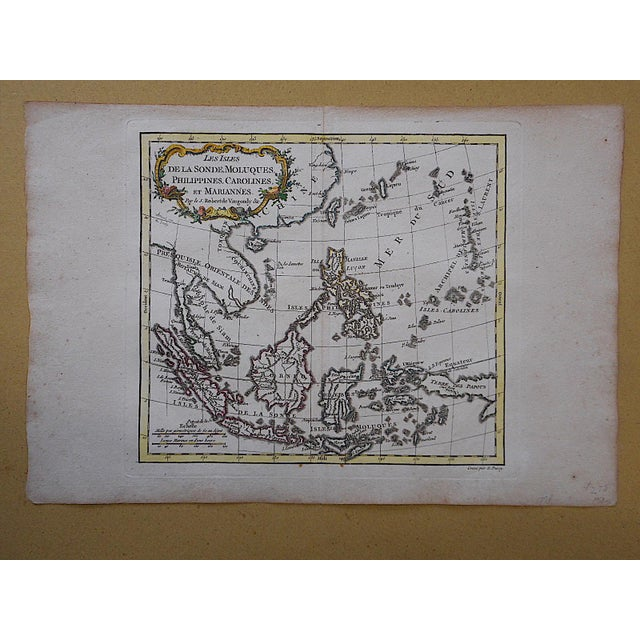 Antique 18th C. Map-Phillipines-South Sea Islands - Image 2 of 3